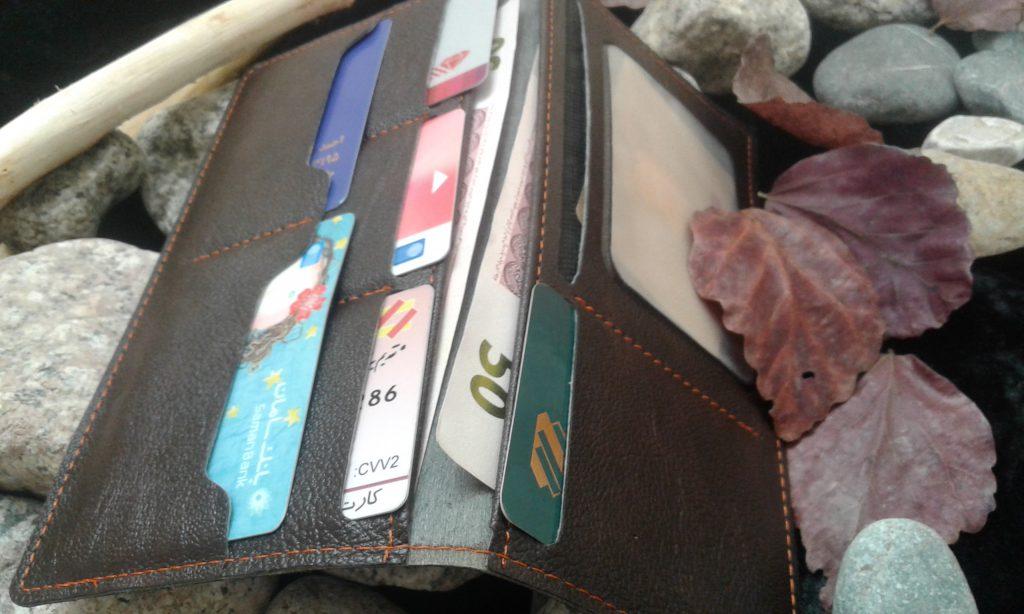 خرید کیف مدارک پالتویی دوختی بوشهر